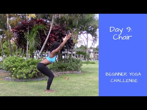 Beginner Yoga: How to Chair Pose (Utkatasana)