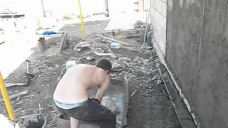 Как не надо штукатурить стены цементом