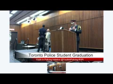 Summer Student Graduation, Toronto Police Service YIPI Students