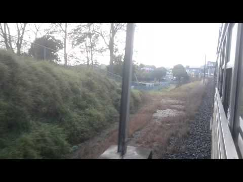 Queensland Rail 150 year passenger train - Goodna to Gailes