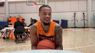 Tennessee Basketball Media Day -- Lamonte Turner