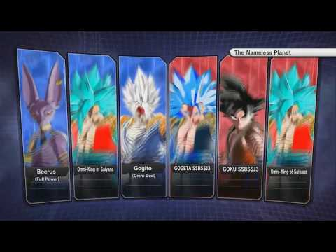 Dragonball Xenoverse 2 The tournament of Power the most op mods fight in a 3 vs 3