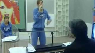 Silvia Olari prova Wise Girl (30/12/08)