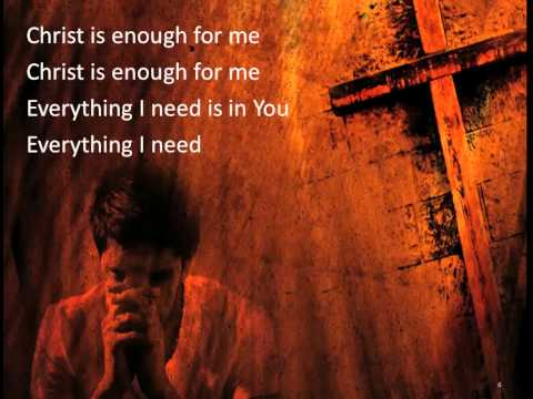 Christ is Enough ~ Spring Harvest ~ lyric video