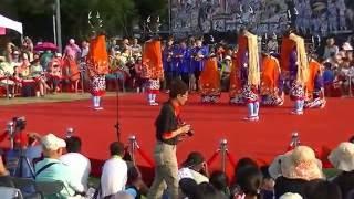 宇和島市 八ツ鹿踊り 台南国際民俗芸術祭