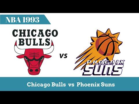 Chicago vs Phoenix   The 1993 NBA Finals - Highlights
