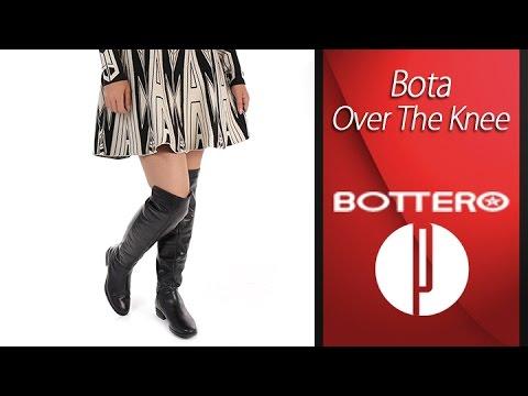 879e259d67 Bota Over The Knee Feminina Bottero - 6010413712 - YouTube