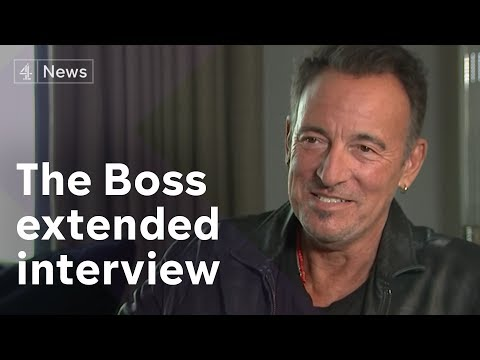 Bruce Springsteen on Donald Trump, and his own depression