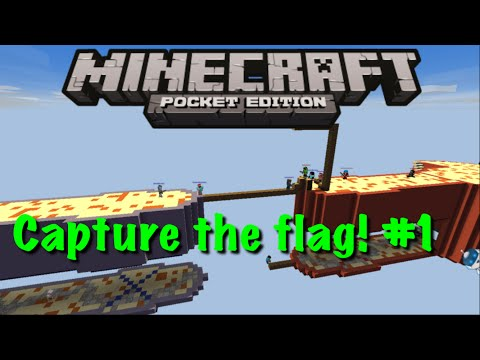 Minecraft Pocket Edition Capture The Flag #1 Carrying
