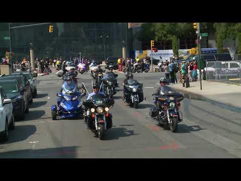 9/11 Memorial Motorcycle Ride - Javits to Lower Manhattan