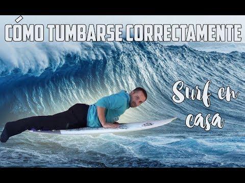 Videotutorial - Como tumbarse correctamente en la tabla de surf