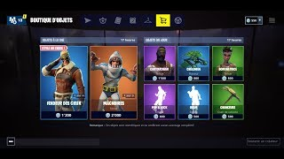 "FORTNITE BOUTIQUE of December 12, 2018 New Skins ""Slayer of Heaven - Voltigeuse"""