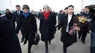 """Chinese foreign minister calls visit """"historic"""" for British PM visiting"""