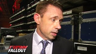 Michael Cole speaks on his lawsuit against Brock Lesnar: Raw Fallout, June 15, 2015