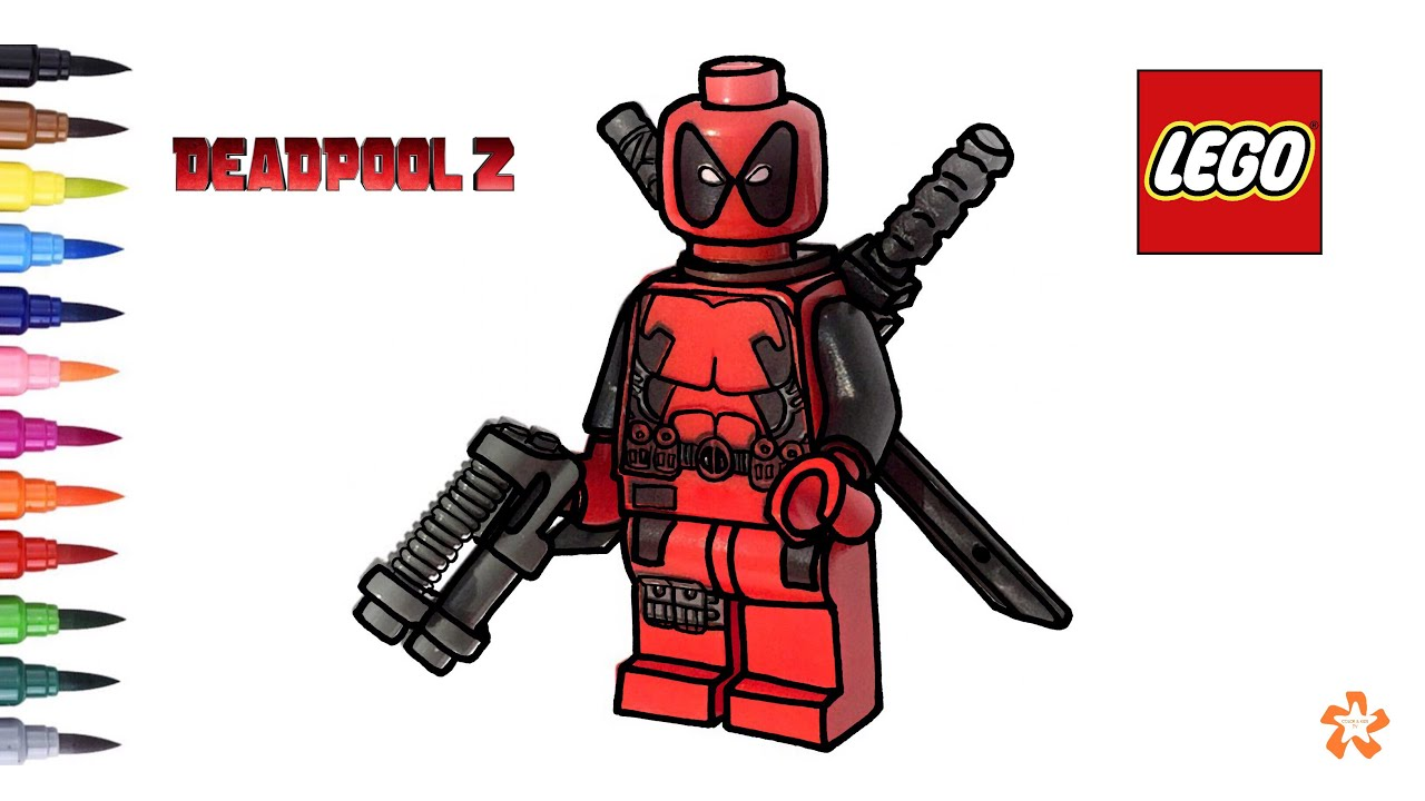 LEGO Deadpool 2 Coloring pages