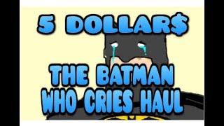 THE CRAZIEST $5 SCORE - STARRING THE BATMAN WHO CRIES - 5 COMICS $5 COMIC BOOK HAUL