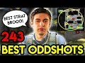 "CSGO - ""SHROUDS BEST TACTIC !"" - BEST ODDSHOTS #243 (+Giveaway)"