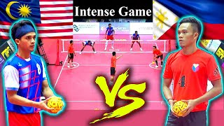Sepak Takraw - Philippines Vs Malaysia ! Full Game ! HD