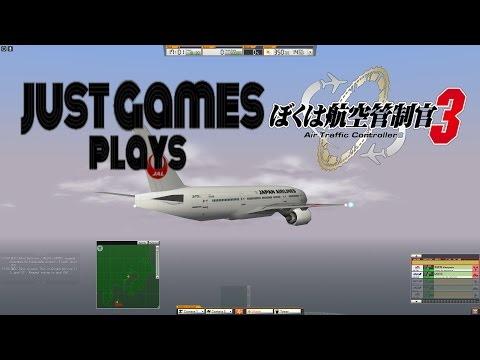 Just Games Plays Air Traffic Controller 3 - RJTT Stage 5