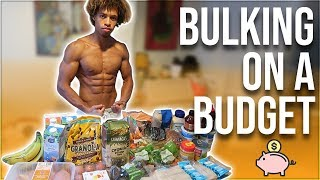 HOW TO BULK ON A BUDGET - LESS THAN £1.20 A MEAL!!
