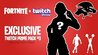 Finally... Twitch Prime Pack #3 in Fortnite