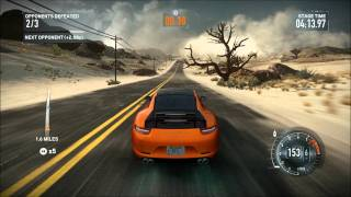 NFS The Run - Sand Storm - Porsche 911 Carrera S - i7 2600K - XFX HD 6870