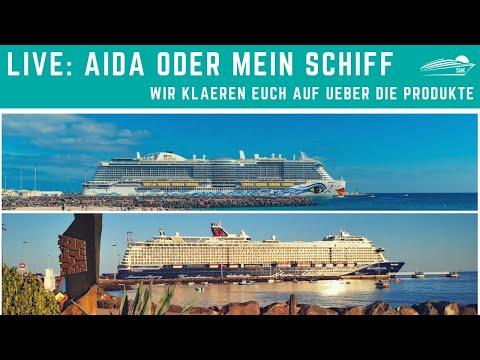 Aida Oder Mein Schiff Vergleich Wo Liegen Die Unterschiede