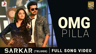 With contemporary music and ultra-modern lyrics, #omgponnu is just the perfect mix of what it takes for a song to be on everyone's playlist! from #thalapathy...