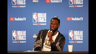 """Draymond Green: """"I've Been on the Wrong Side of 3-1."""" - Full Press Conference 