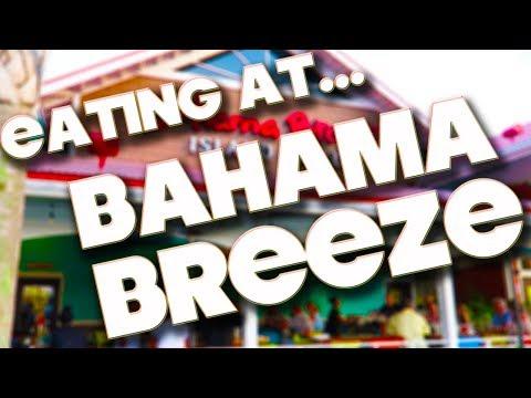 EATING AT - BAHAMA BREEZE - ORLANDO
