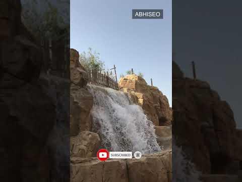 Water Fall – Wild Wadi Waterpark Dubai #Shorts Video