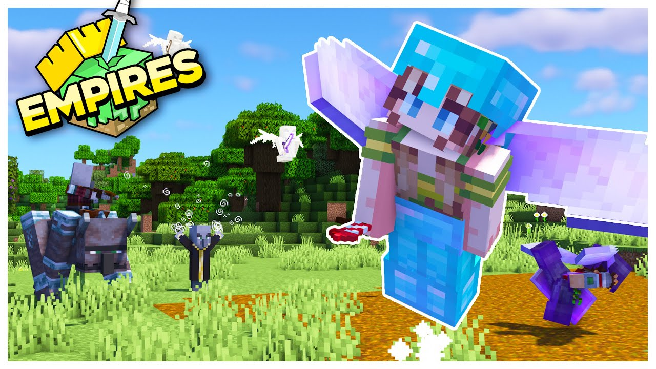 EmpiresSMP: New Skin! Magic, Allies, Raids and Trades! -Episode 4
