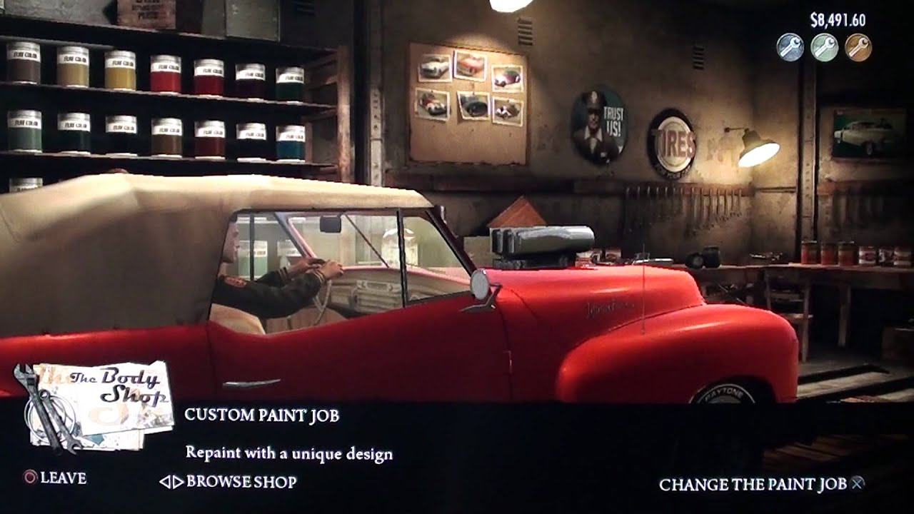 mafia ii gameplay ps3 car mods hd youtube. Black Bedroom Furniture Sets. Home Design Ideas