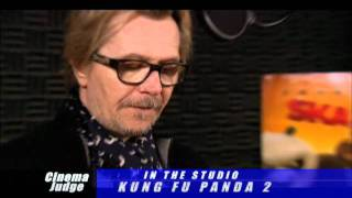 Kung Fu Panda 2 In the studio