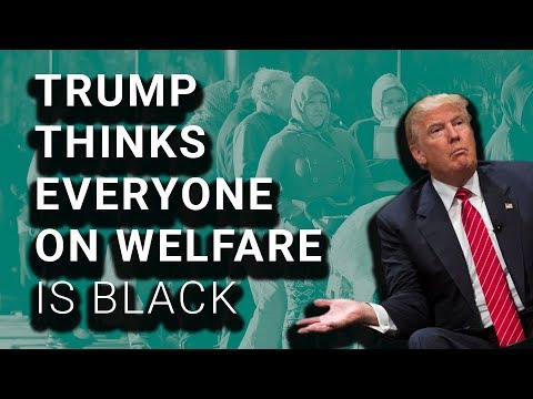 Trump SHOCKED That Not All Welfare Recipients Are Black
