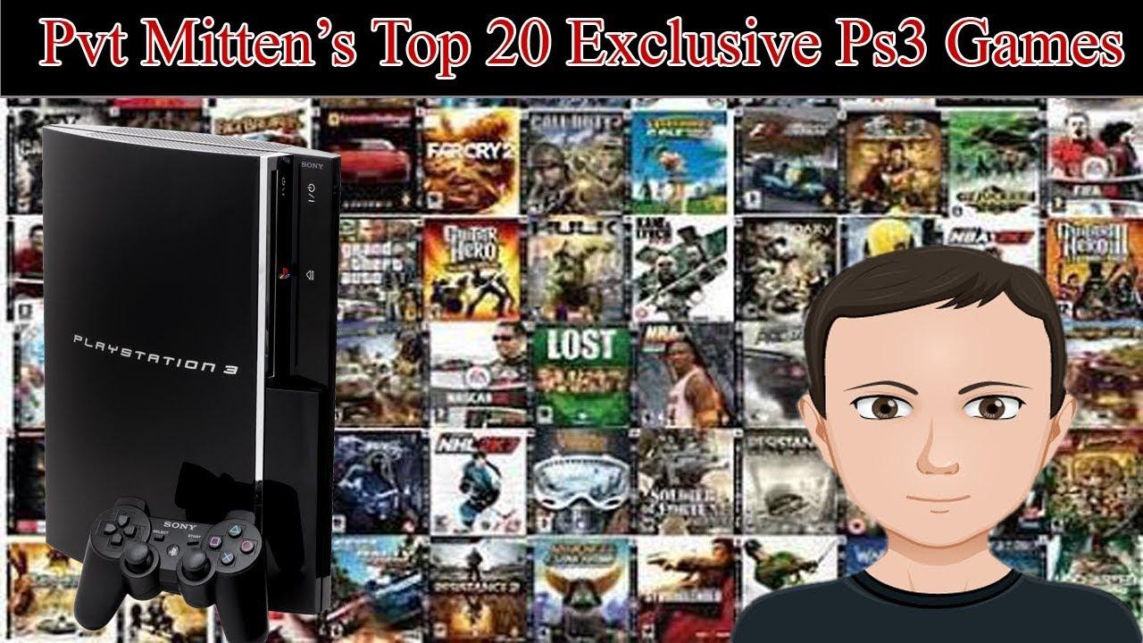 Pvt_Mitten's Top 20 Exclusive Ps3 Games