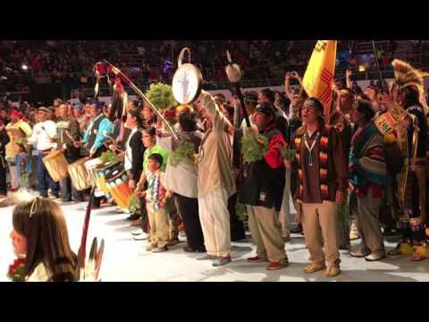 United Pueblo Buffalo Dance @ Gathering of Nations Powwow 2017