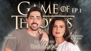 Game of Thrones Show - Episode 1: Lannisters' look - Elie Stephan X Christina Karam