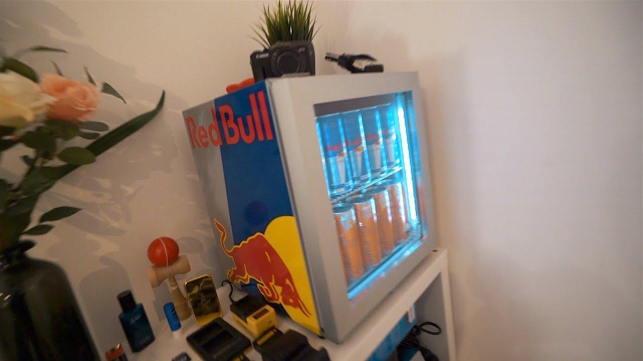 Kühlschrank Red Bull : Mein eigener red bull kÜhlschrank youtube
