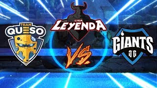 TEAM QUESO Vs. GIANTS GAMING | Final de Playoffs de la Liga Leyenda | Clash Royale