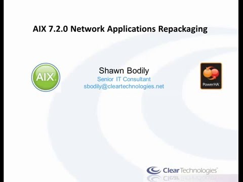 AIX 7.2 Network Applications repackaging