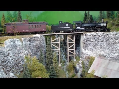 Howard Mckinney's On3 scale Denver Rio Grande & Western Model Railroad ~ Train Layout