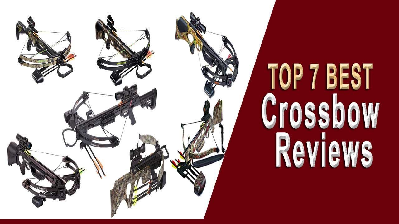 Top 7 Best Crossbow Reviews | Best Crossbow 2019