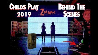 Zapętlaj *NEW* Behind The Scenes photos | Childs Play 2019 | Damn Dude Industries