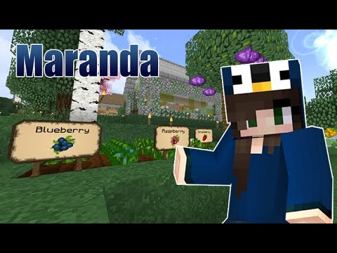 Fancy Garden Signs!! // 57 // Maranda (Modded Minecraft Let's Play)