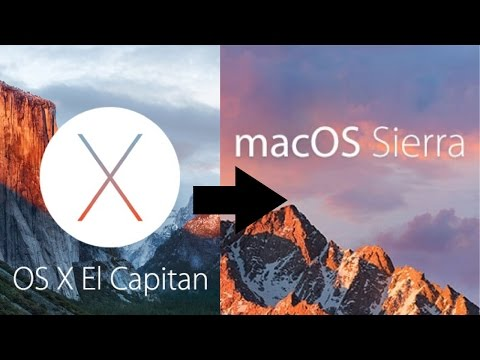 How To Update From El Capitan OS X To MacOS Sierra