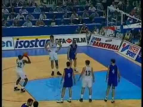 Dominique Wilkins Euroleague final 1996 Panathinaikos - Barcelona