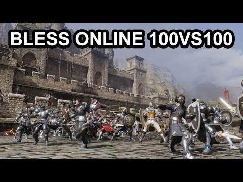 Bless Online 100vs100