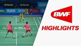 Dubai World Superseries Finals 2017 | Badminton F – Highlights