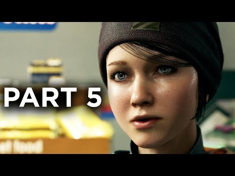 Detroit Become Human Gameplay Walkthrough Part 5 - FUGITIVES (Full Game)